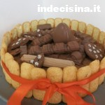 Torta Kinder ai 3 cioccolati