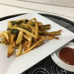 Patate e zucchine diavolite