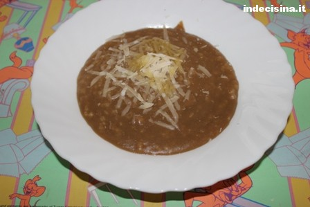 Crema di lenticchie per bambini bimby