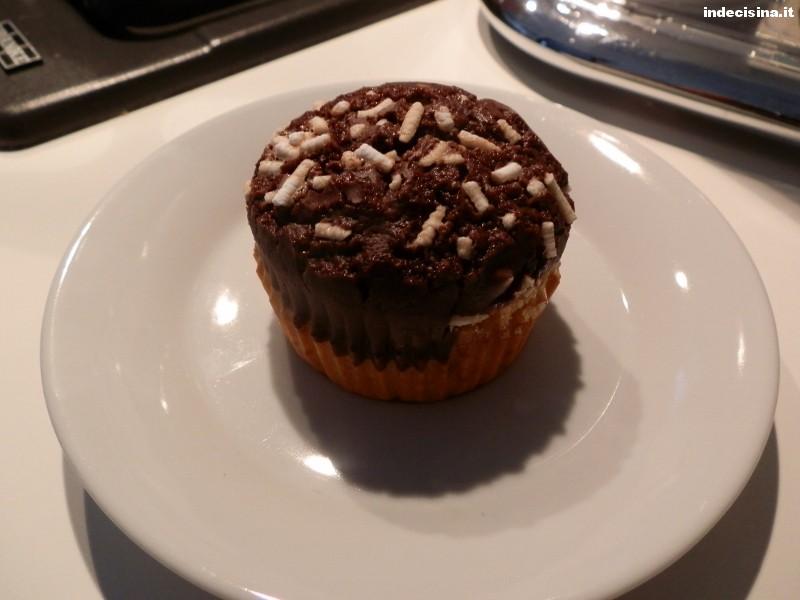 Muffin black and white