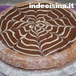 Crostata alla Nutella con cioccolato bianco