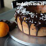 Ciambellone all'arancia e cioccolato