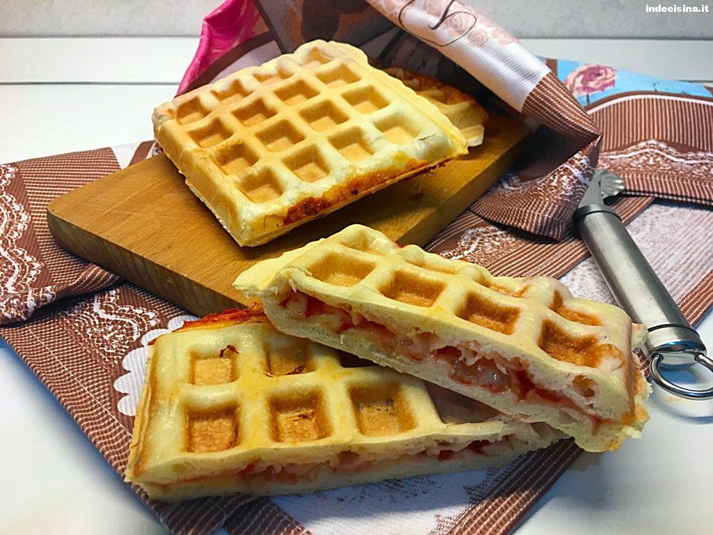 Pizza Waffle