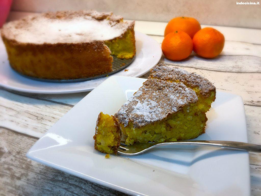 Torta mandarini e mandorle