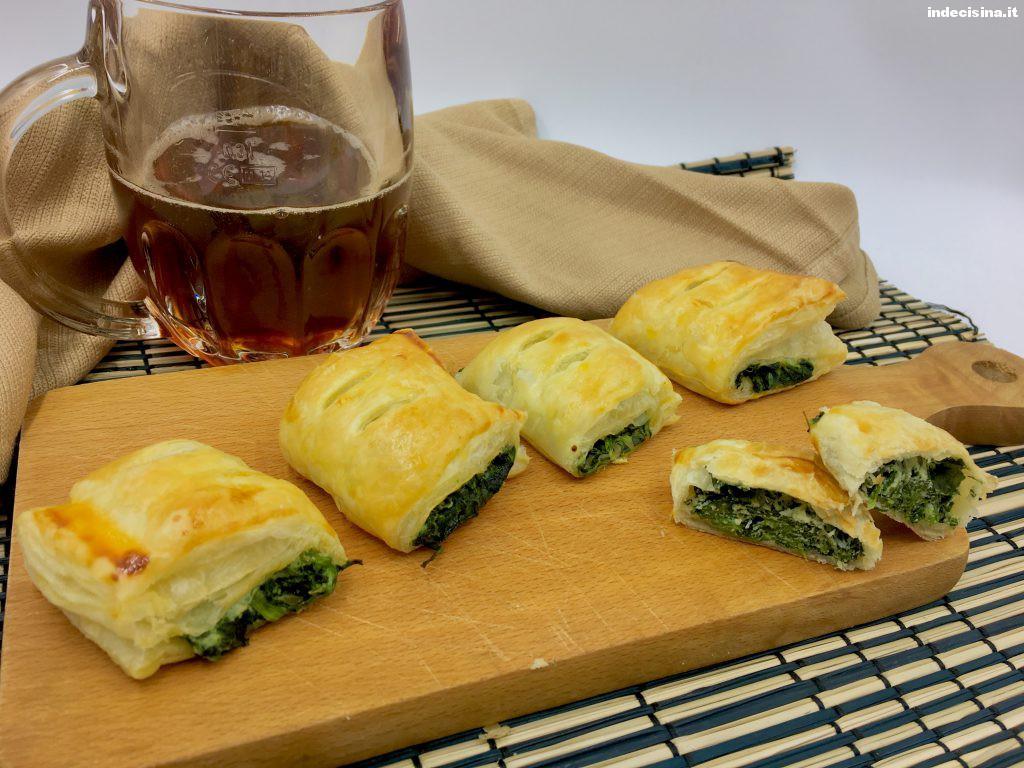 Rustici ricotta e spinaci