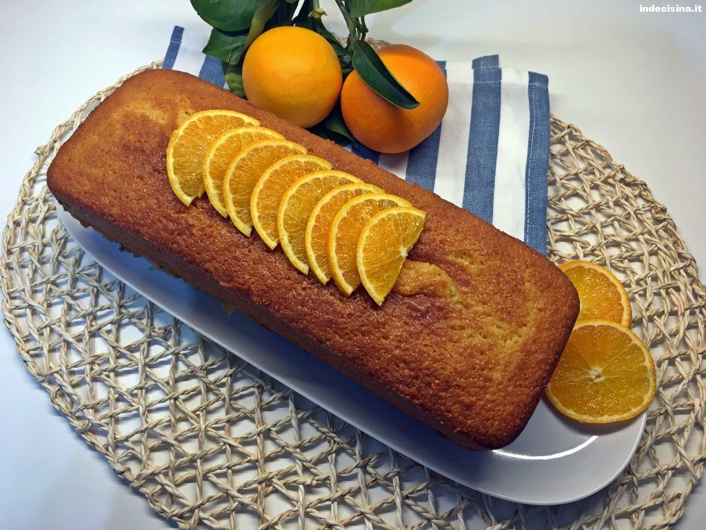 Plumcake all'arancia bimby