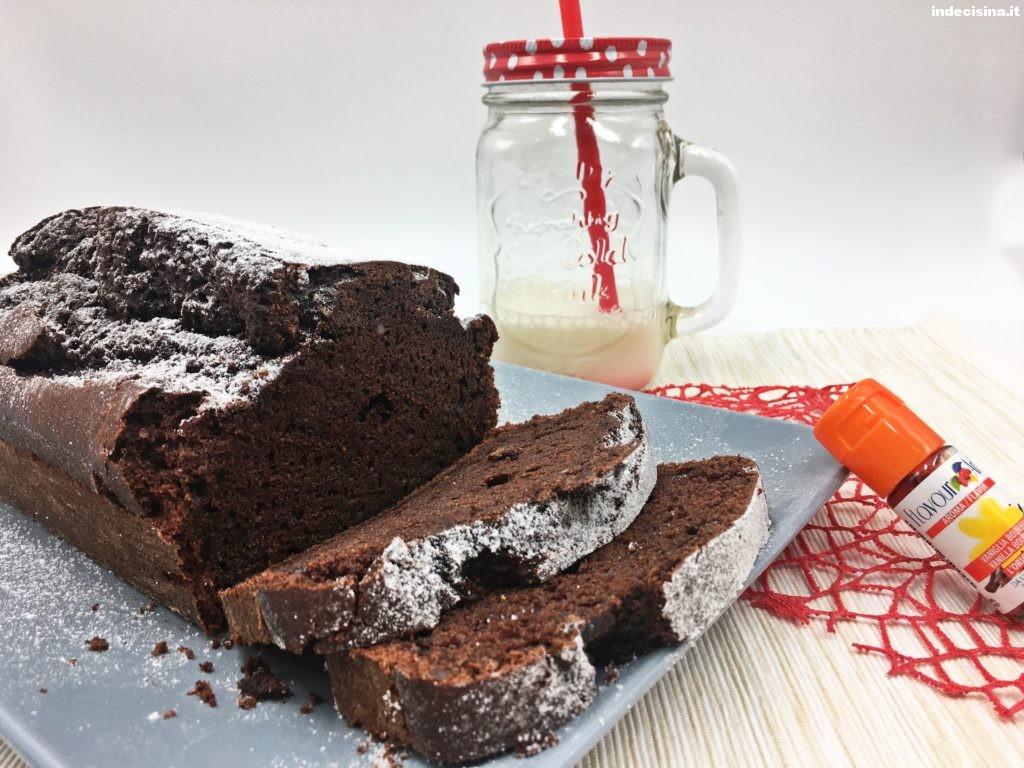 Plum cake al cacao e ricotta